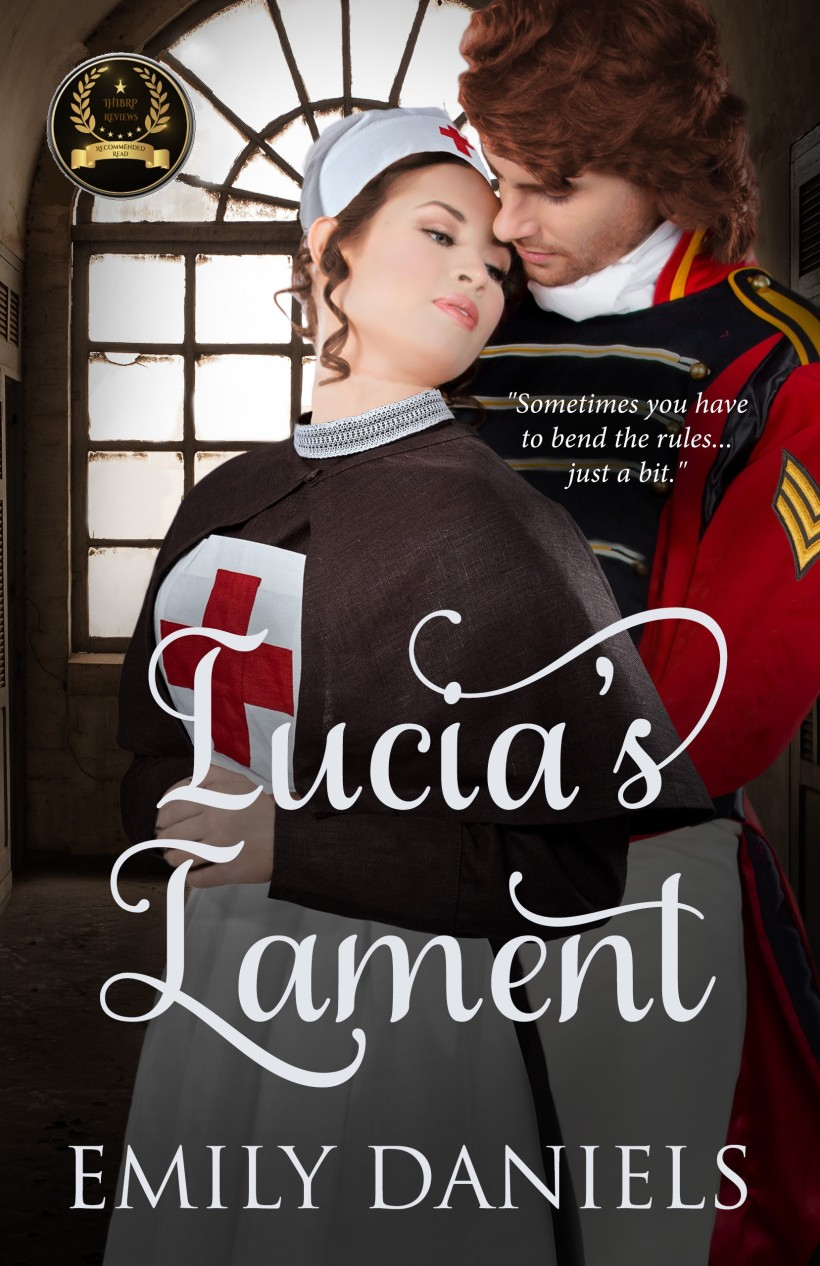 Lucia's Lament official front cover award